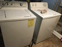 white washer and dryer set Capitol Heights, 20743