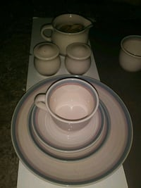 white ceramic plate and bowl set Kalamazoo, 49001