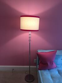Floor Lamp w/ PB teen shade. 33 km