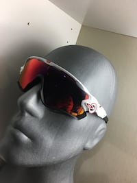 black and red framed sunglasses Norcross, 30071
