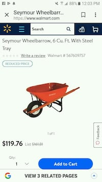 Wheelbarrow Baxter Springs, 66713
