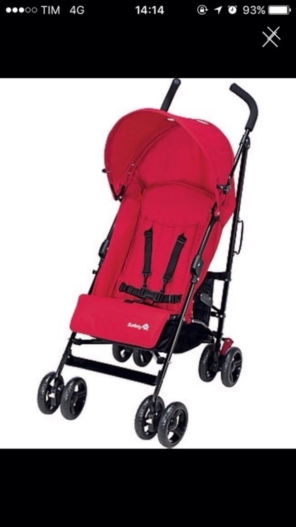 screenshot di Baby's black e red Safety 1st