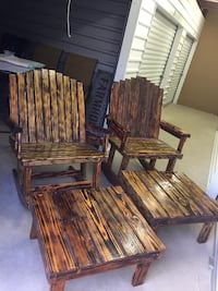 Double Wide Rocking Chairs