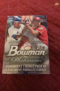2018 Bowman Platinum Blaster box sealed Walmart Exclusive Rare !!! Beltsville, 20705