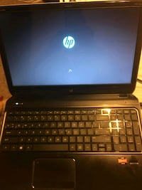 black and gray HP laptop Rome, 30161
