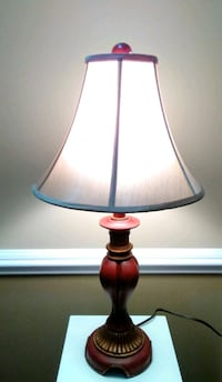 Reduced!! Reddish Brown & Taupe Lamp with Matching Shade Wilmington, 28411