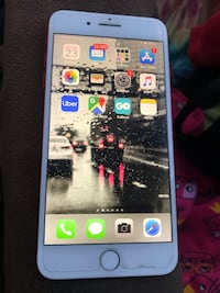silver iPhone 6 with black case Los Angeles, 90043