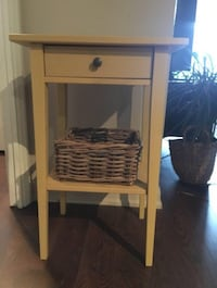 Side table with basket included  Toronto, M4X 1K9