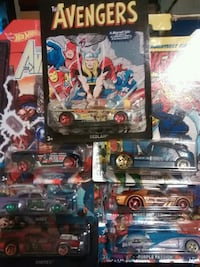 Hot Wheels Avengers Set Urbana, 43078