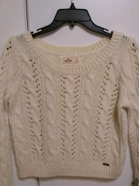 "Cute ""HOLLISTER""crop sweater,sm Newburgh, 47630"