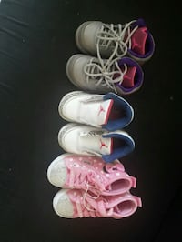 toddler's three pairs of shoes North Miami, 33181
