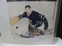 Johnny Bower Signed 8X10 TORONTO