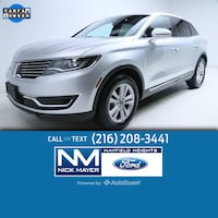 2016 Lincoln MKX Premiere Mayfield Heights, 44124