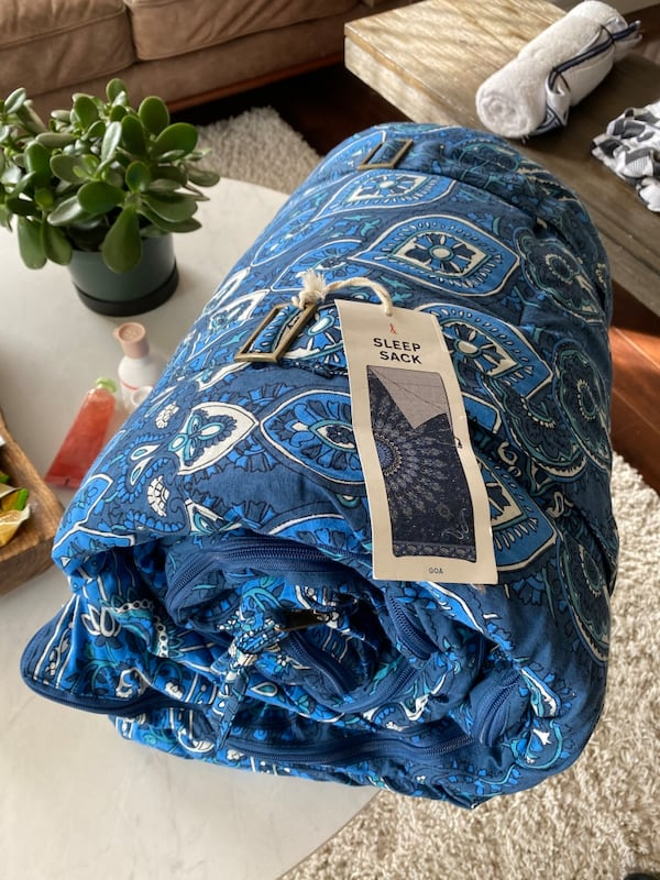 *new never used* magical thinking sleeping bag  0