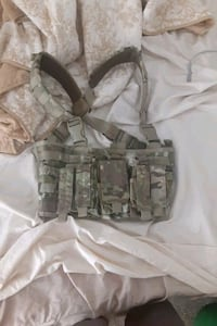 Airsoft chest rig