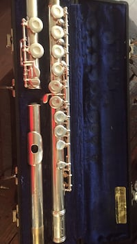 Stainless steel flute with case Houma, 70364