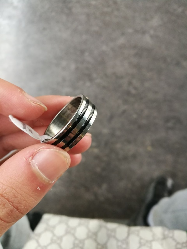 Bague homme taille 22