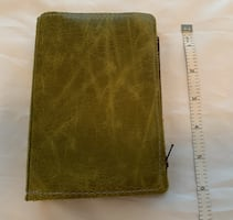 Hand made travellers notebook