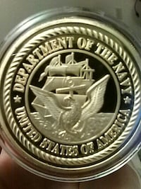 Department of the Navy USA commemorative coin Centralia, 98531