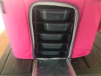 6 Pack lunch cooler.... Brand new and a little dusty due to sitting in storage but, will clean off easily.
