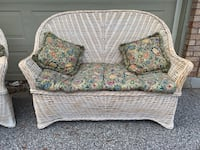 WHITE WASHED WICKER LOVE SEATS FROM PIER ONE North Dumfries, N0B 1E0