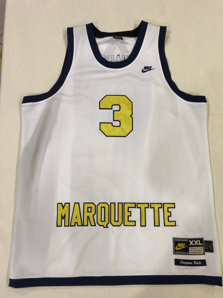 competitive price cd947 8fd18 norway dwyane wade marquette jersey sale b679f 55cd2