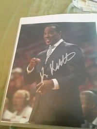 basketball coach autograph forgot which college Tampa, 33616