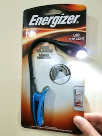 NEW Energizer Clip-on Light
