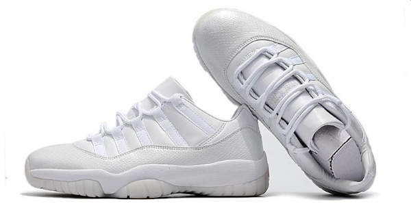 top fashion fashion style many styles 2018 Cheap Air Jordan 11 Low Frost White Heiress For Sale
