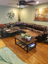 leather sectional  Howell Township, 07731
