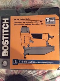 Bostitch Finish nailer  44 km