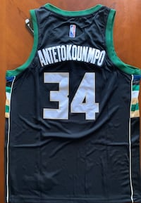 Giannis Antetokounmpo, Milwaukee Bucks Jersey, Men's Large or XL Milwaukee, 53202