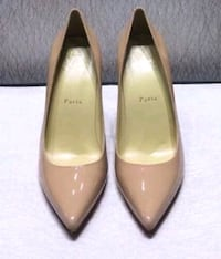 Authentic Christian Louboutin So Kate Beige