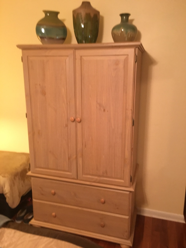 letgo 4 pcs light maple bedroom set in pompano beach fl