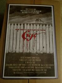 Cujo Movie Poster  Bunker Hill, 25413