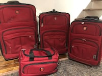4-piece luggage set Montreal