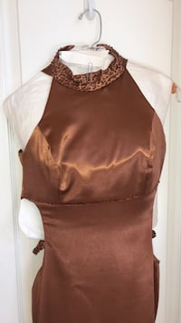 Copper Prom Dress Los Angeles