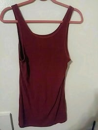 women's maroon tank top Canyon, 79015