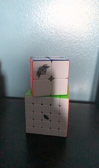 Speed Rubic Cubes-2x2 and 5x5