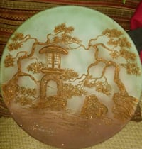 round brown and beige decorative plate Winchester, 22603