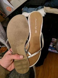pair of brown leather sandals Toronto, M5T