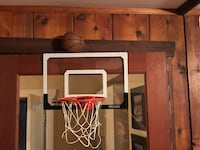 Mini basketball and net (hang over the door) North Vancouver, V7N 1P1