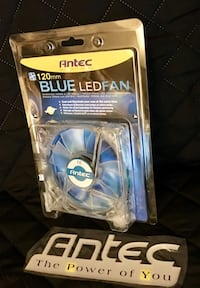 Antec Blue LED fan with case *brand new* New York, 11355