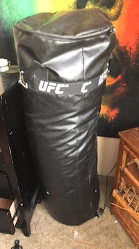 UFC punching bag in good condition . Don't have room for it anymore Barrie, L4N 7N2