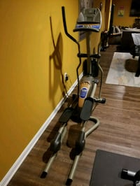black and gray elliptical trainer Indian Head, 20640