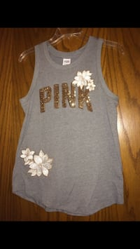 Pink top xsmall  Justice, 60458
