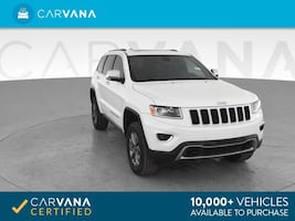 2014 Jeep Grand Cherokee suv Limited Sport Utility 4D White