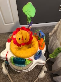 Baby bouncer seat. 3 stages with multiple activity and play stations. Music and lights   Alexandria, 22306