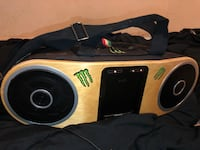 brown and black boombox by Marley
