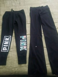 two black and gray sweat pants Coquitlam, V3K 3H3